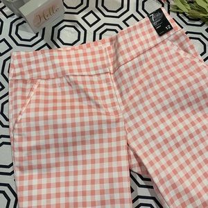 🆕 7th Avenue NY&CO Checkered Ankle Pants -Size 12